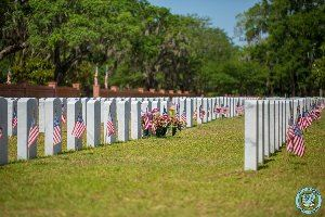 Beaufort National Cemetry  - Memorial Day 2019