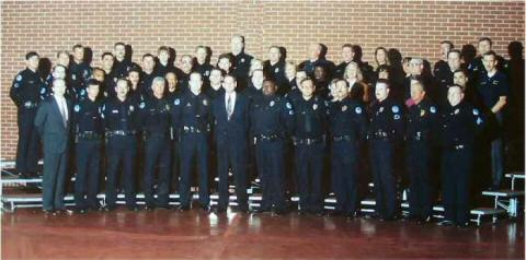 Police Department group photo 5