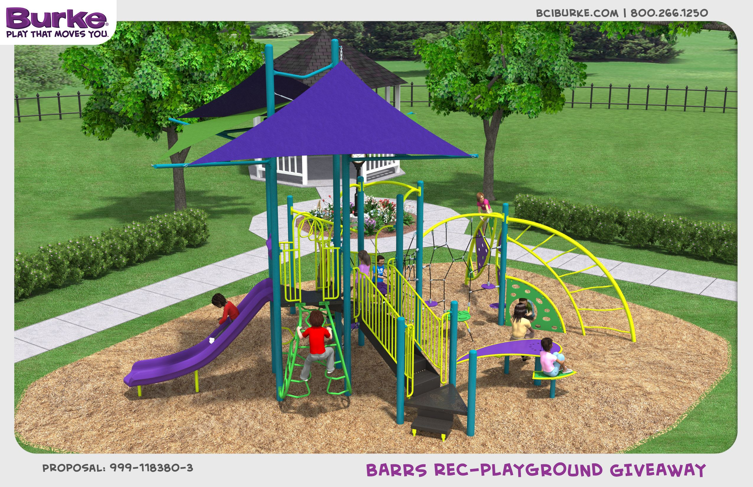 Wash st playground image